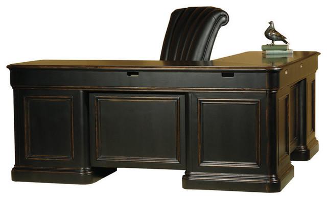 Home Office L-Desk modern-desks-and-hutches