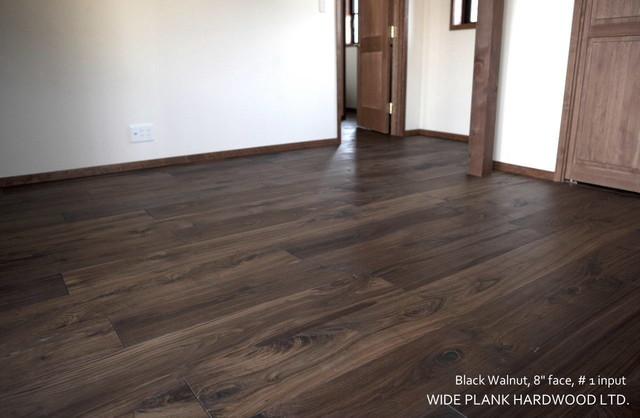 BLACK WALNUT - Modern - Hardwood Flooring - vancouver - by Wide Plank Hardwood Inc.