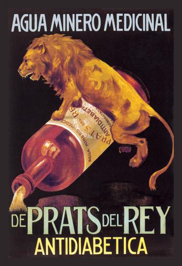 Agua Minero Medicinal de Prats del Rey 20x30 poster contemporary-prints-and-posters