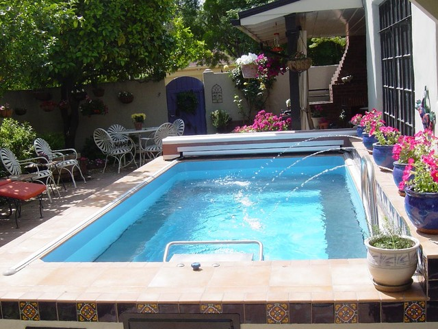 Original Endless Pools Small Pool Mediterranean Hot Tub And Pool Supplies Other Metro