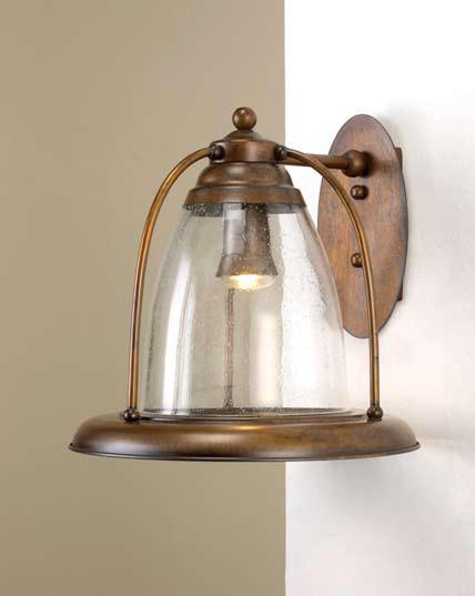 Fredeco Bell Shape Pendant mediterranean-pendant-lighting