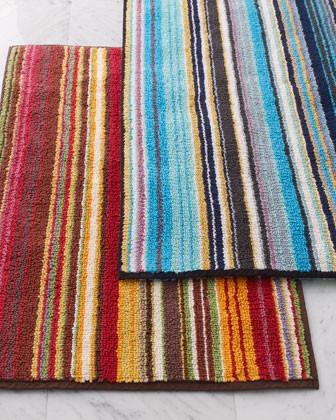Missoni Jazel Striped Bath Mat traditional-bath-mats