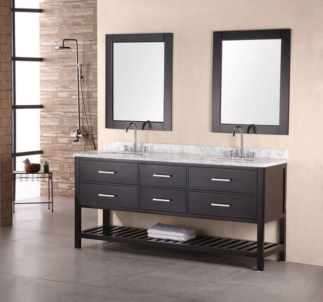 Design element bathroom vanities contemporary bathroom vanities and sink consoles los for Contemporary bathroom sinks and vanities
