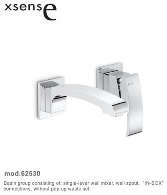 X-Sense Faucets and Fixtures by Newform contemporary-bathroom-faucets