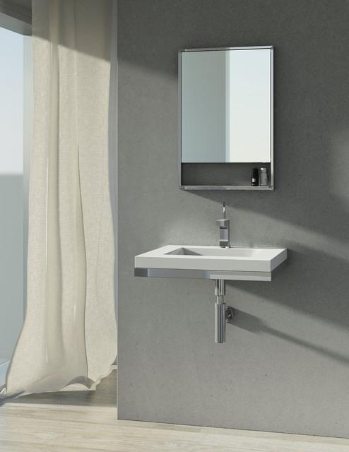 Floating Sink Bathroom : Floating Sinks - Modern - Bathroom Sinks - montreal - by WETSTYLE