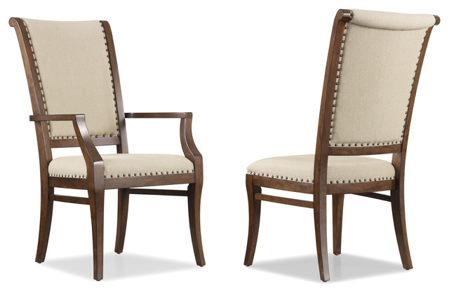 Hooker Furniture Set Of 2 Classique Upholstered Arm Chair