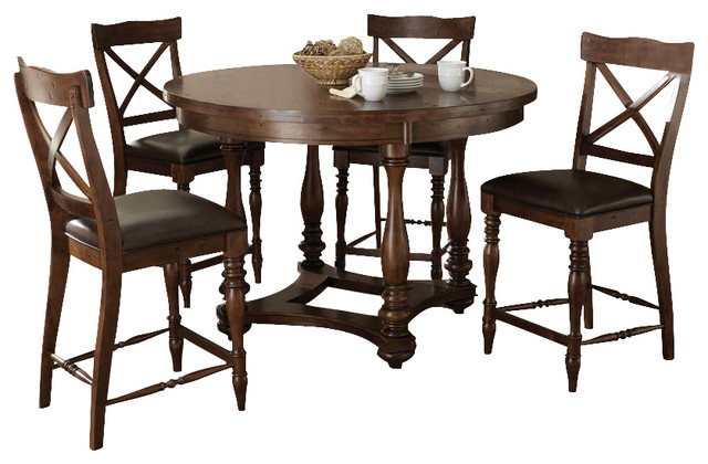 Counter Height Round Dining Set : ... Round Counter Height Set - Contemporary - Dining Sets - by eFurniture