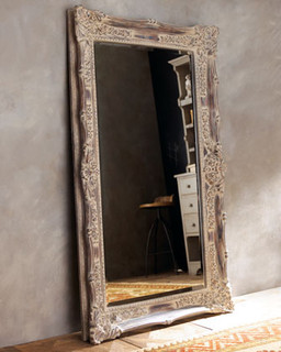"""Antique French"" Floor Mirror - Traditional - Floor Mirrors - by Horchow"