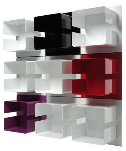 Mbox Square Shelf - Modern - Display And Wall Shelves - by Made in ...
