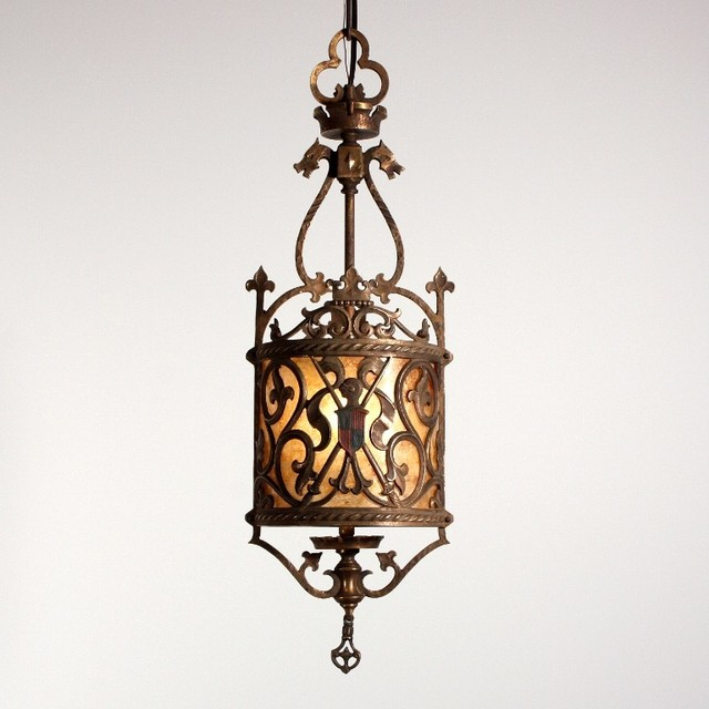 Antique Spanish Revival Lighting - Mediterranean - Chandeliers - nashville - by Preservation Station