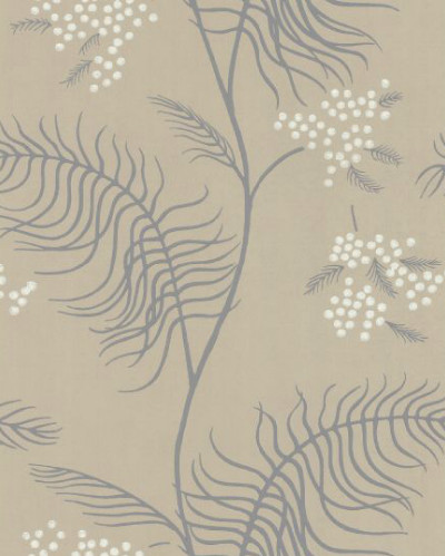 Mimosa wallpaper contemporary-wallpaper