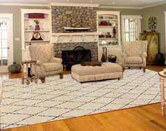 Moroccan Rugs Made for Every Space of Your Home ~ Moroccan Inspired Tribal Rugs -