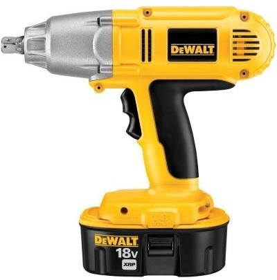 DEWALT 18-Volt Ni-Cad Cordless 1/2 in. Impact Wrench DW059K-2 contemporary-gardening-tools