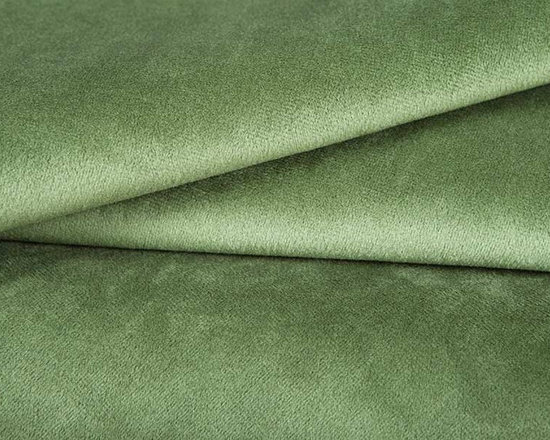 Princess Upholstery Fabric in Spring - This spring green upholstery fabric has a suede and velvet-like pile that creates a decadent feel that's not easily forgotten. Super durable, yet soft and luxurious, this fabric is perfect for high traffic areas. Available in a multitude of colors, this fabric is a great solid to use as the basis for any design. Ideal for reupholstering chairs, sofas, ottoman, and more, or for creating custom bedding and pillows. Made from 100% polyester. Fire Rating: UFAC Class 1. 100,000 double rubs. Width: 54″