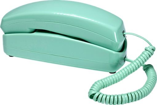 Slimline Phone, Green - Modern - Home Electronics - by The Vermont ...