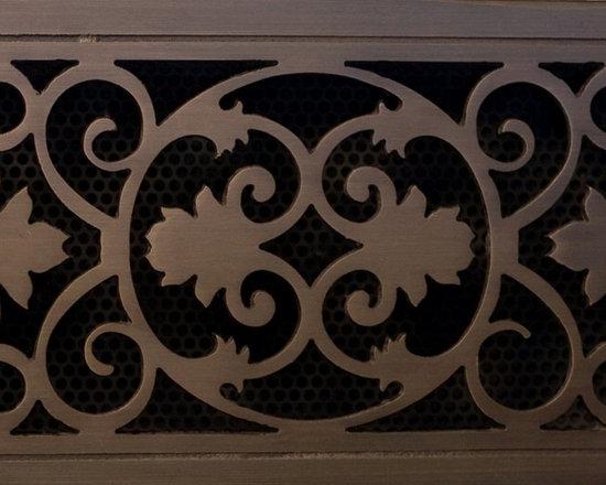 Decorative Vent Covers - Bronze vent cover