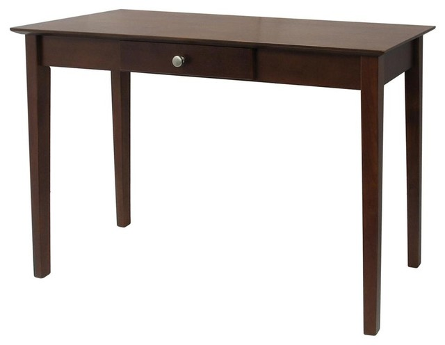 Rochester Console Table w 1 Drawer in Antique contemporary-console-tables