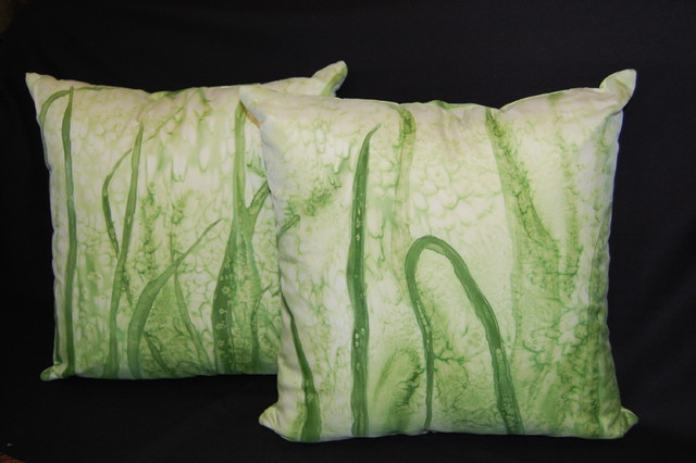 pillow shams tropical shams