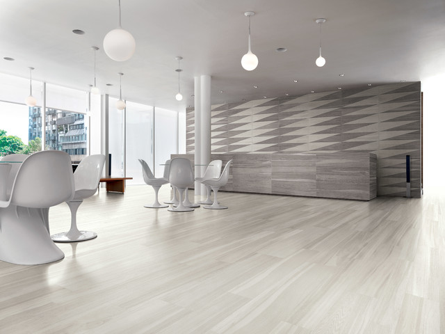 Light Wood Look Floor Tile Modern Wall And