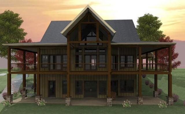 Banner Elk House Plan