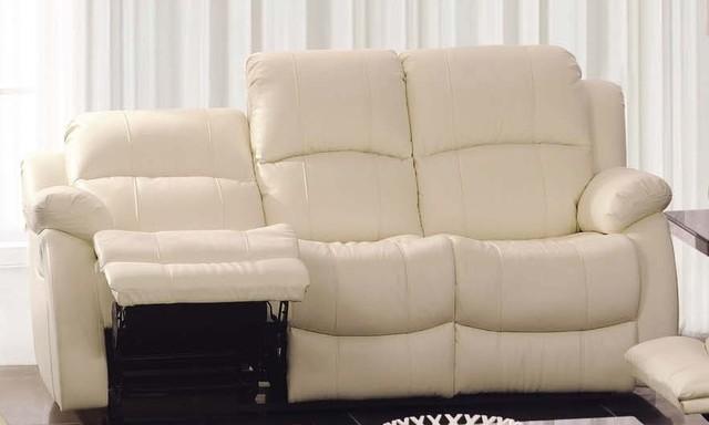 Ambra Italian Leather Reclining Sofa