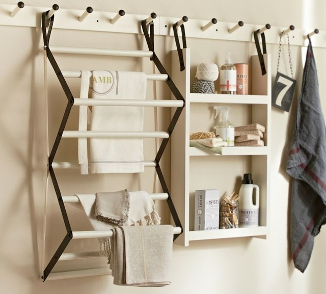 Gabrielle Laundry System - Traditional - Drying Racks - by Pottery Barn