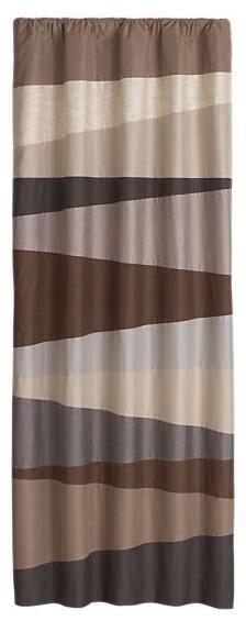 "Harden Neutral 50""x96"" Curtain Panel modern-curtains"