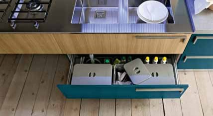 Italian Kitchen Cabinet Organization and Close-up Images eclectic-kitchen-cabinets