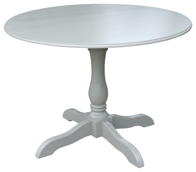 "60 Inch Square Pedestal Table: 42"" Round Hampton Pedestal Dining Table"