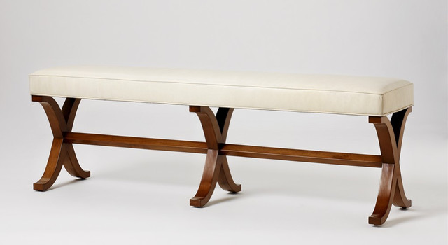 Susanna Bench - traditional - bedroom benches - by Jan Showers