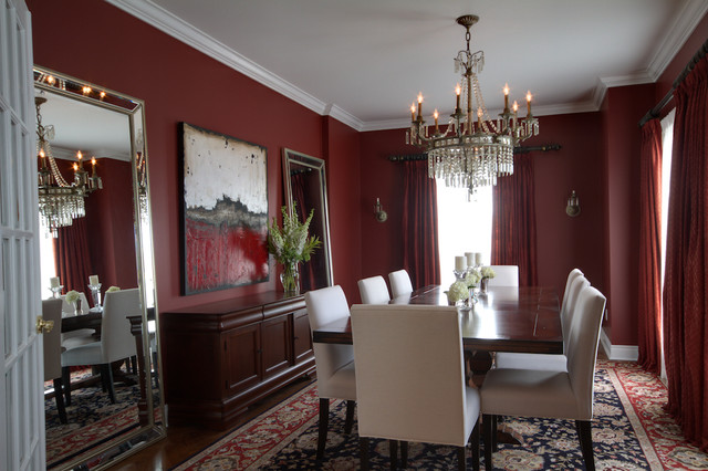 McPhail Way eclectic-dining-room