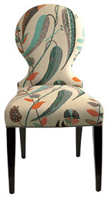 The Lucia eclectic dining chairs and benches
