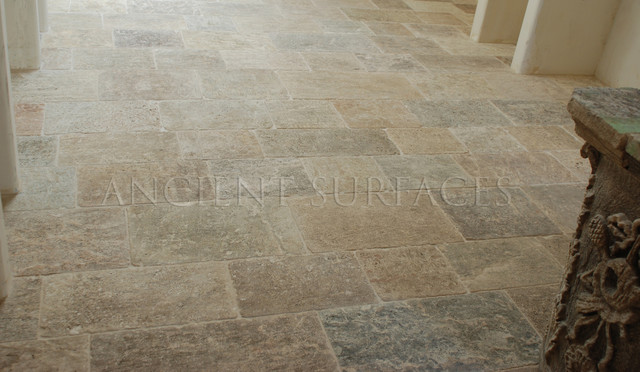 Antique Kronos Stone Mediterranean Wall And Floor Tile