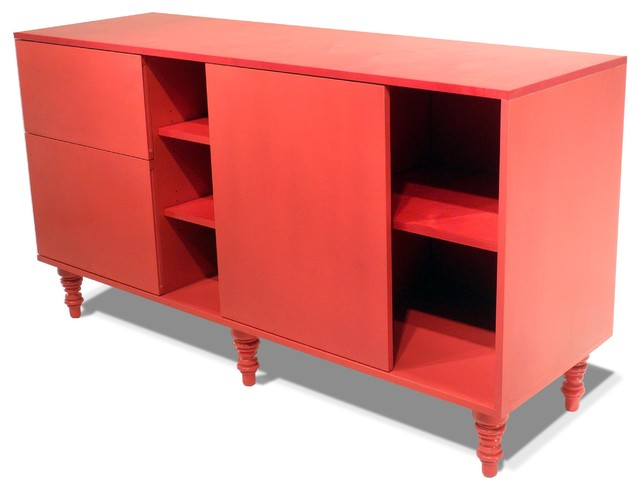 Two Plane Credenza - Modern - Buffets And Sideboards - new york - by PICKETT FURNITURE