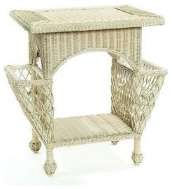 Mainly Baskets Magazine Table traditional-side-tables-and-end-tables