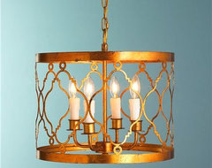Trellis Drum Lantern contemporary chandeliers