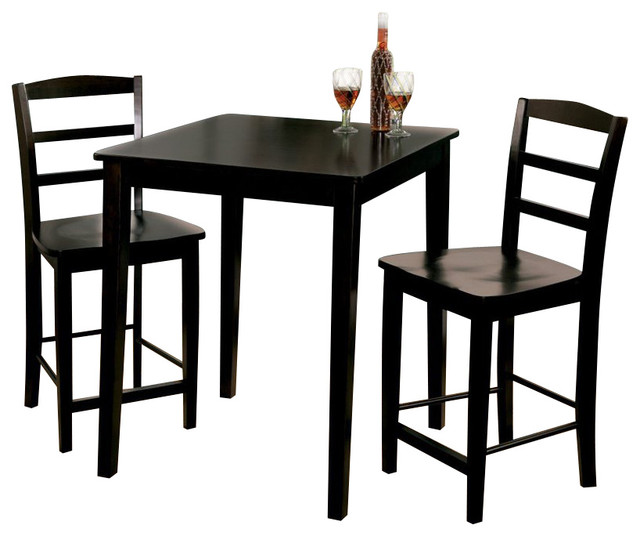 International Concepts 3 Piece Gathering Height Dinette
