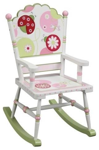 Guidecraft Sweetie Pie Rocking Chair contemporary-kids-chairs