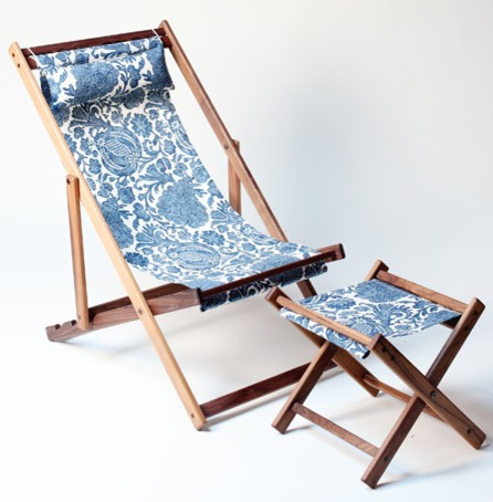 Qualicum Garden Deck Chair eclectic-outdoor-lounge-chairs