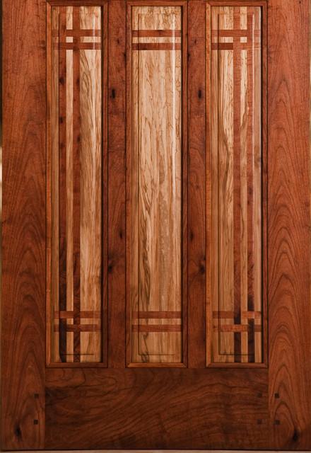 Cooper Residence eclectic-front-doors