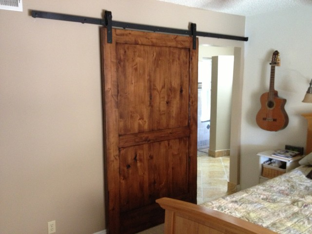 Sliding Barn Door Knotty Alder 2 Interior Doors