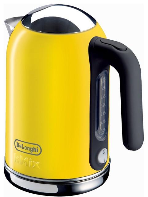 Delonghi Coffee Maker Yellow Light : DeLonghi Kmix 54-Ounce Kettle, Yellow - Modern - Kettles - by Amazon