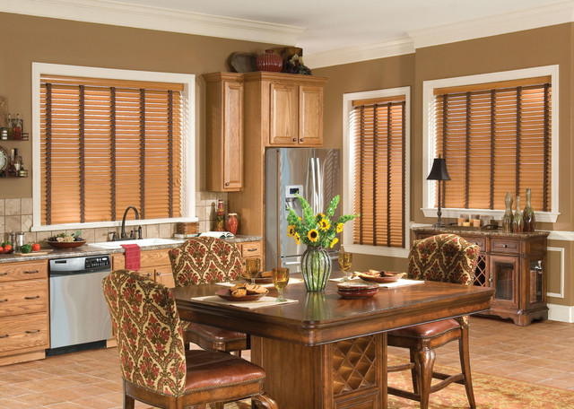 faux wood blinds eclectic kitchen brown ornate dining table eclectic vertical blinds. Black Bedroom Furniture Sets. Home Design Ideas