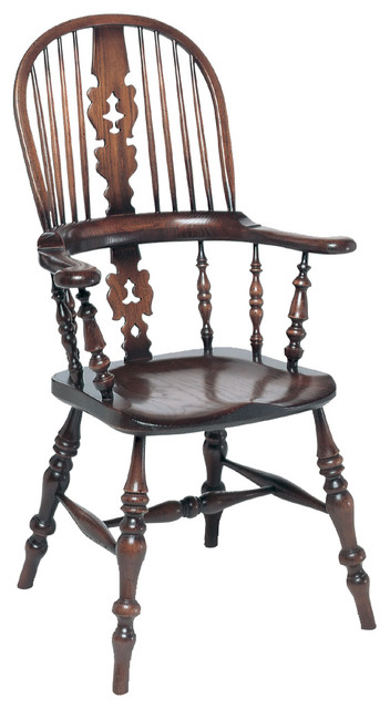 Lancashire Broardarm Windsor Dining Chair traditional-dining-chairs