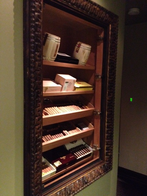 Built In Humidor Other Metro By David Rance Interiors