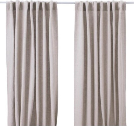 AINA Pair of Curtains modern curtains