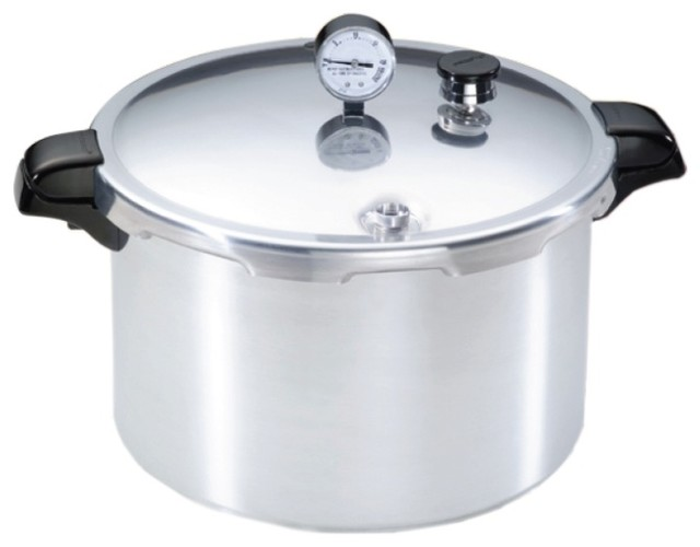 Aluminum Pressure Canner 16 Qt. contemporary-specialty-cookware