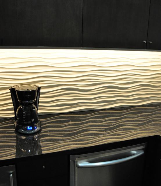 modularArts InterlockingRock Dune™ Tile contemporary-tile