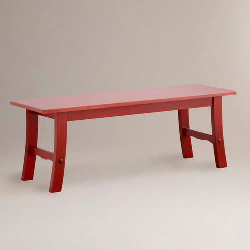 Red Asian Bench Asian Indoor Benches By Cost Plus World Market