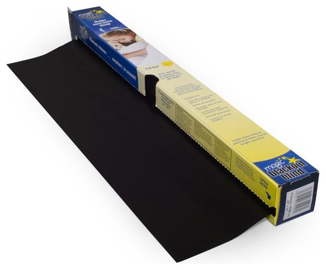 Magic Blackout Blind - 50 Square Feet of Static Cling ...
